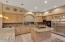 Very Spacious Kitchen w/ Beautiful Cabinets and Granite Counters