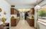 Walk through kitchen