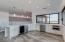 Mini kitchen/bar for second level.