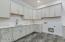 Main level laundry room.