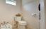Bidet in separate toilet room