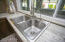 Quartz counters and deep SS sink.