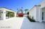 Casita patio and separate pool bath