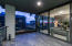 Expanse of glass sliders for indoor/outdoor living!