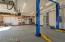 Massive garage with HVAC