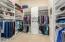 Master Closet With Built In Closet Organizer