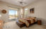 Master Bedroom With Separate Exit to Backyard