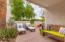 Patio covered space