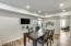 Recessed lighting in kitchen