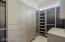 Custom closet with high-end European cabinets