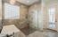 Spa-like bathroom exudes luxury!