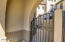 Gated front porch