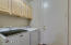 Laundry room with washer/dryer included