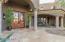 Main entry courtyard