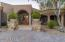 Main entry from driveway