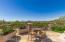 Outdoor living / dining area overlooking 3rd Fairway and the City of Scottsdale and all of Phoenix