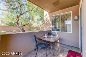 Very Private Patio onto rarely used common area on the edge of the community.