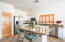 Kitchen Island offers perfect setting to enjoy the main living spaces.