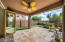 Enjoy an AZ lifestyle with easy living features in the outdoor living space.