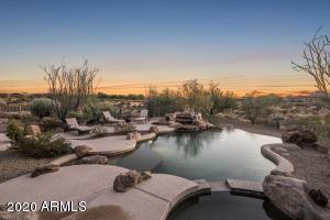 Enjoy beautiful Arizona Sunsets from the resort like backyard.