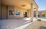 large overhang patio