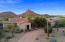 Views of Pinnacle Peak, circular driveway