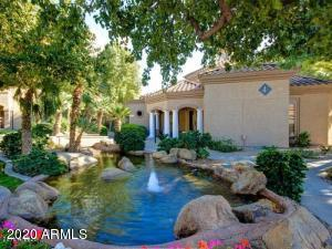 Don't miss this well-located 1 bedroom unit in the desirable Signature Scottsdale community. Just a few steps from the pool this ground level north facing unit is both convenient and attractive. You'll enjoy the large patio, storage closet, in-unit washer and dryer, tile and carpet flooring, double vanity sinks, and an attractive kitchen with updated appliances. This unit was completely re-done in 2012 with new appliances, cabinets, sinks, fixtures, and carpet. Tenant occupied, lease expires 6/09/21, Monthly lease amount $1045.00