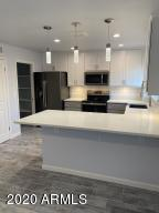 New grey and white shaker cabinets