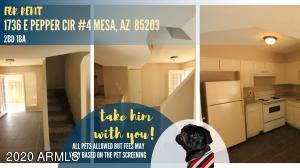 1736 E PEPPER Circle, 4, Mesa, AZ 85203
