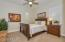 Spacious 4th Bedroom