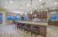 Gourmet Kitchen with a generous island, dining area, and wrap around butler's pantry
