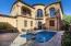 Courtyard/Heated pool