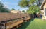 A corner lot brings benefits! Ample side yard that extends outdoor living and options for beautiful interior window views