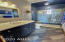 Pool House/Casita shower, tile and vanity.