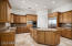 Large island, loads of cupboard space and a big walk-in pantry