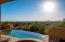 Infinity edge heated pool & spa offering fabulous views while you float & relax