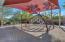 Covered community playground.