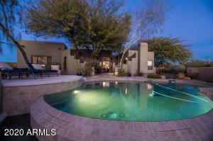 Lite Pool and Patio provides a beautiful setting for the evening outdoors.