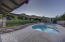 View of pool from the Casita