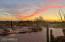 Each evening brings an amazing sunset.