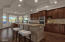 Kitchen design is perfect for cooking.