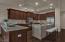 Great open kitchen.