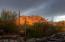 Sunset on Troon Mountain