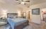 Master bedroom offers plenty of space