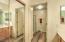 Large Closet behind the mirror sliders