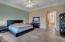 Spacious MBR with adjoining walk-in closet, large bathroom