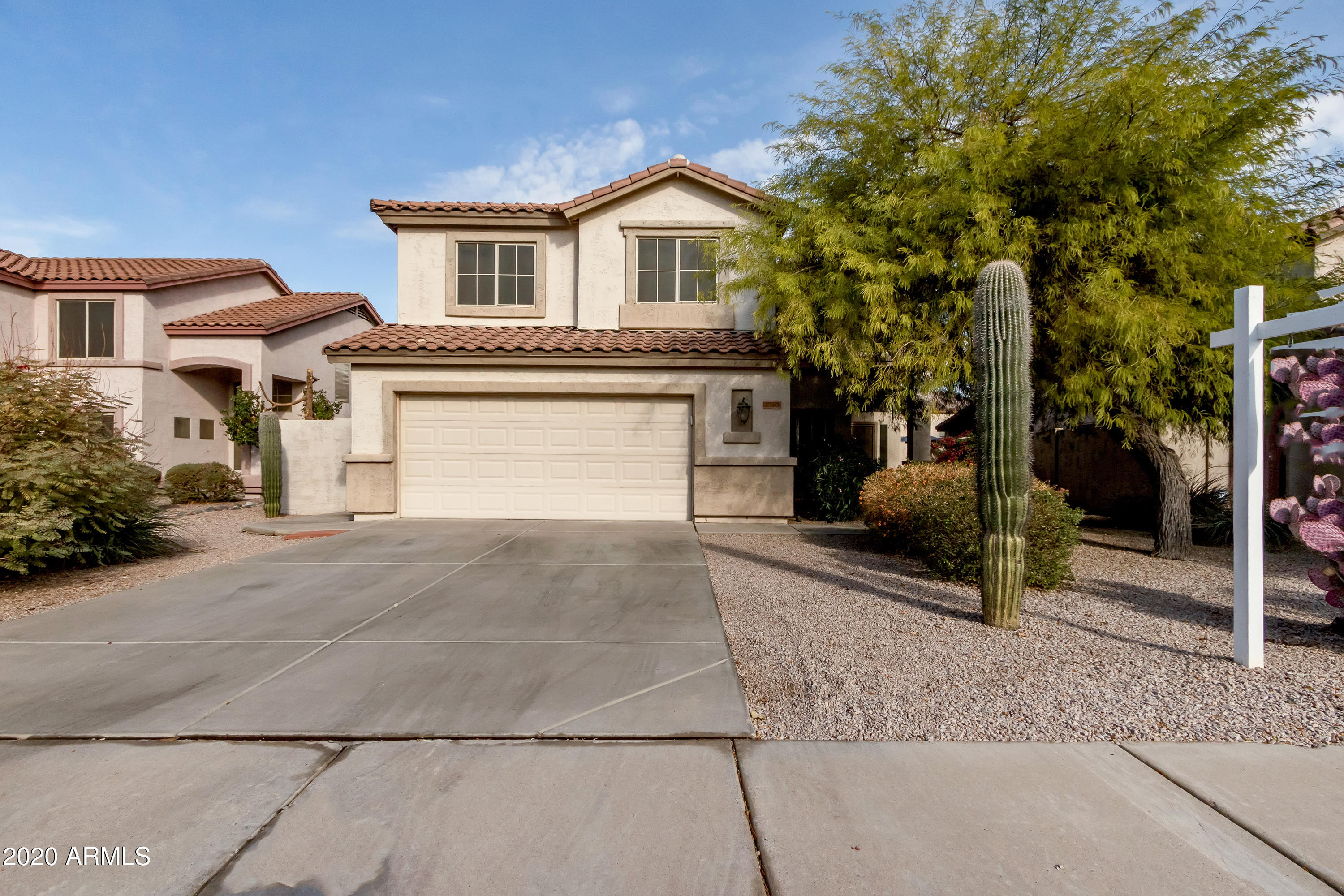 Total renovation in Gilbert - 85233!  This 4 Bedroom + Loft has 3 Full Bathrooms and a Master Suite on the 1st floor.  Everything in this home is NEW.  Spacious kitchen with an abundance of white, soft close cabinets, Quartz counters and new stainless appliances.  Bathrooms all have new cabinets, hardware, fixtures and lighting.  New LVT Flooring in living and wet areas with carpet and upgraded pad in the bedrooms.  New interior paint throughout. All lighting, fans and fixtures updated.  North facing backyard with mature landscaping boasts lemon and orange trees and even a putting green!.  Oversized 2 car garage with storage.  Ignore days on market, home has been under renovation.  Seller adding finishing touches today!