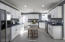 All NEW Kitchen w/contrasting Soapstone Suede counters & Quartz Island.