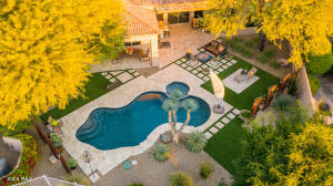 Simply superb! This back yard is the total package!