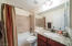 2nd Bathroom with Granite Counter
